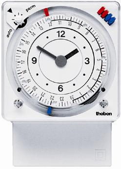 Реле времени Theben SYN 269 g установка времени со штырьками, монтаж на стену/в панель, th 2690033