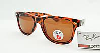 Солнцезащитные очки Ray Ban Wayfarer поляризованные 2140 3P
