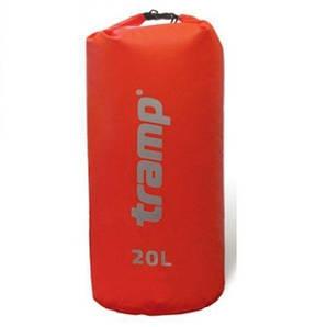 Гермомешок Nylon PVC 20 червоний (Tramp) (22569)