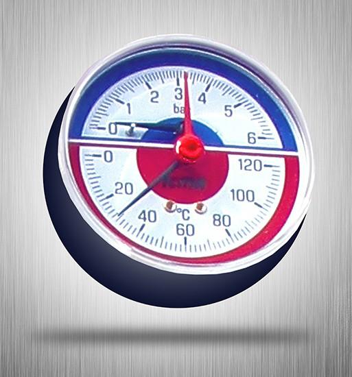 Термоманометр на котел Stropuva