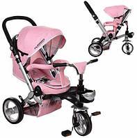 Велосипед-коляска с поворотным сиденьем Turbotrike M AL3645-10, розовый