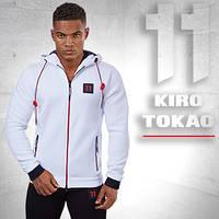 Kiro Tokao 137 | Толстовка спортивная мужская белая
