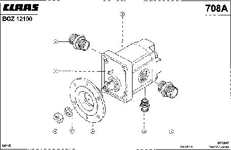 ДВИГАТЕЛЬ ВЕНТИЛЯТОРА - CLAAS TARGO C-SERIE (2)