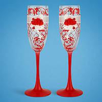Свадебные бокалы SG для шампанского 2 шт. (TL-1562)