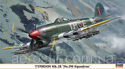 TYPHOON Mk.IB No.198 SQUADRON 1/48  Hasegawa 09862