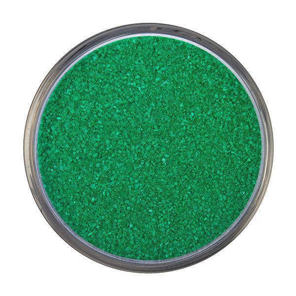 Кольоровий пісок для пісочної церемонії Kissul зелений