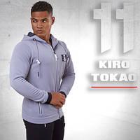 Kiro Tokao 174 | Мужская спортивная толстовка серая