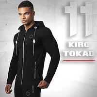 Kiro Tokao 156   Мужская спортивная толстовка черная