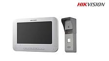 Видеодомофон DS-KIS203 + вызывная панель