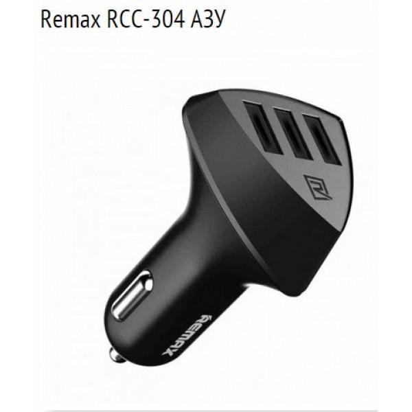 Автомобильное зарядное устройство Remax Aliens RCC-304 3*USB , фото 1