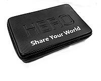 Кейс для аксессуаров GoPro, Xiaomi, SJCAM (carbon, large size)