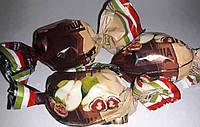 """Конфеты фирмы AMANTI Сухофрукты с орехом в чёрном и белом шоколаде""""Шокодуэт груша с грецким орехом в шоколаде"""""""