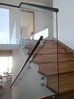 Стеклянные перила под ключ, фото 1