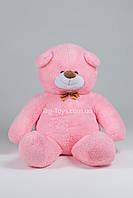Розовый большой плюшевый медведь 300см