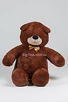 Шоколадный большой плюшевый медведь 300см