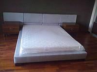 Кровать двуспальная на подиуме на заказ купить от производителя в Украине