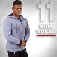 Kiro Tokao 183   Толстовка спортивная серая