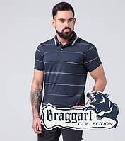 Braggart | Мужская рубашка поло 6685 синий