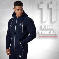 Kiro Tokao 137 | Толстовка мужская спортивная темно-синяя