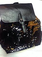 Рюкзак с пайетками , фото 1
