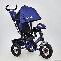Трехколесный велосипед поворотное сиденье Best Trike 7700 В - 5120,синий