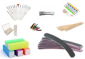 Инструменты и аксессуары для работы с ногтями