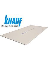 Гипсокартон  стеновой 12,5 мм х 1,2 х 2,5 м  KNAUF