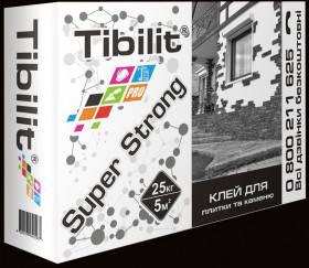 Универсальный клей для плитки и камня Tibilit Super Strong, 25 кг, фото 2