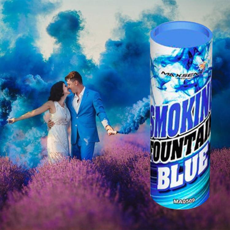 Синий дым для фотосессии Maxsem (SMOKE-03)