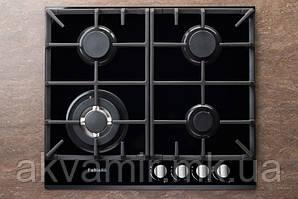 Варочная панель Fabiano FHG 10-44 VGH-T Black Glass (черное стекло) газовая