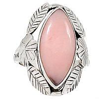 Опал розовый Австралийский, серебро 925, кольцо, 857КО
