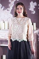 Нежная женская блуза №2130