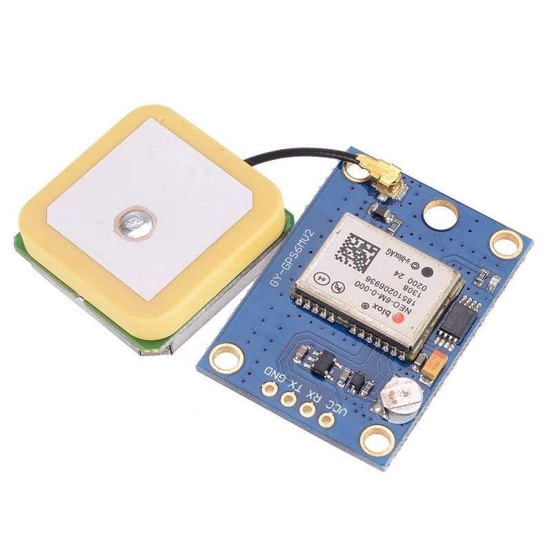 GY-GPS6MV2 GPS-приемник на базе чипа Ublox NEO-6M