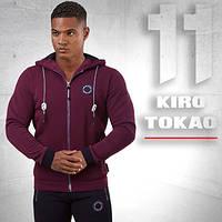 Kiro Tokao 156   Спортивная толстовка мужская красная