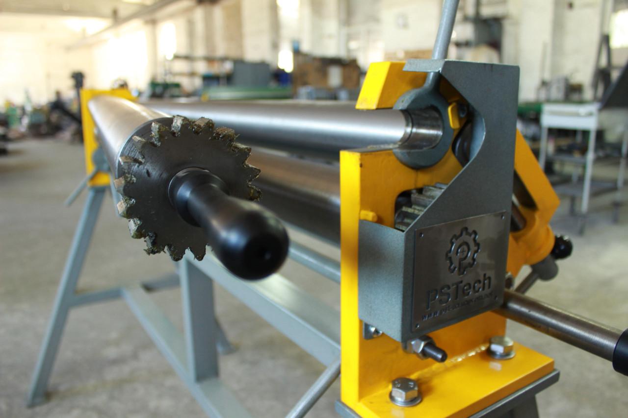 Вальцы ручные трехвалковые | Вальцовочный станок ВР-1300x0,8 PSTech
