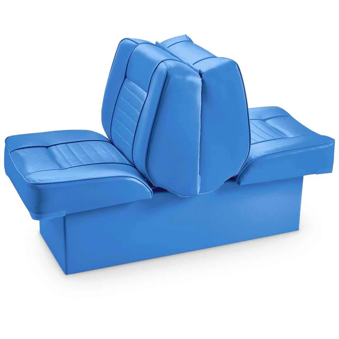 Крісло на тумбі (розкладне) Premium Lounge Seat (блакитний)