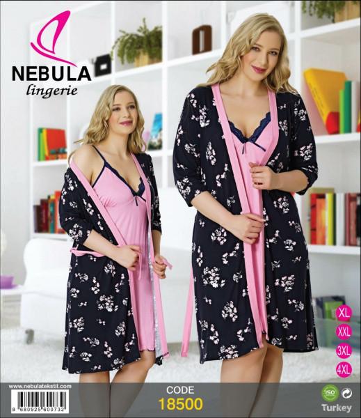 Комплект халат з сорочкою NEBULA 18500