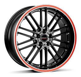 Диски Borbet CW2 Black Red Line