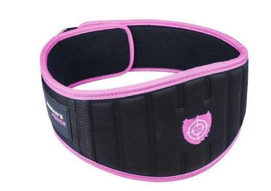 Пояс для спортазала женский ,розовый