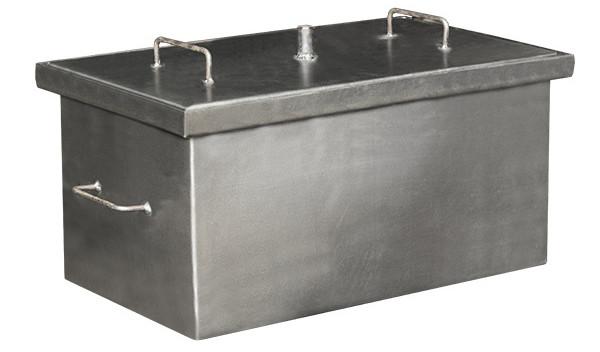 Коптильня горячего копчения (средняя) + 2 кг щепы