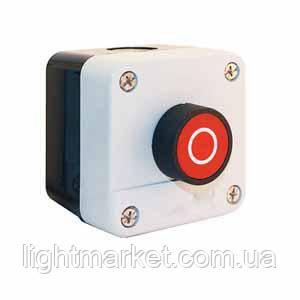 Кнопка ПУСК в корпусе красная, фото 2