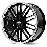 Диски Borbet CW2 цвет Black Rim Polished параметры 8.5J x 18'' 5 x 115 ET 40, фото 2