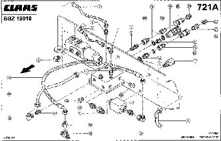 ЗАДНЯЯ СЕРВИСНАЯ ПЛАНКА - CLAAS TARGO C-SERIE (3)