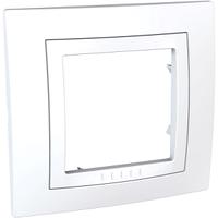 Рамка Белый Unica Schneider, MGU2.002.18