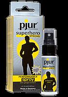 Пролонгирующий спрей для мужчин pjur Superhero Strong Spray, 20 мл.
