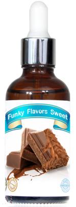 "Подслащенный пищевой ароматизатор  Funky Flavors Sweet ""МОЛОЧНЫЙ ШОКОЛАД"",50 мл"
