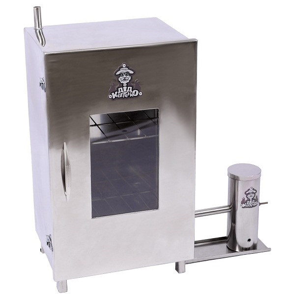 Коптильня холодного копчення з нержавіючої сталі (висота 66 см) + 2 кг трісок