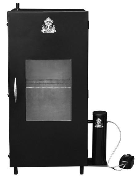 Коптильня холодного копчення з конденсатозбірником і охолоджувачем (висота 100 см) + 2 кг трісок