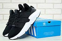 Мужские кроссовки Adidas Prophere черно-белые, фото 1