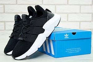 Мужские кроссовки Adidas Prophere черно-белые